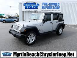 2010 jeep sport pre owned 2010 jeep wrangler unlimited sport 4d sport utility in