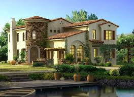 arizona style homes mediterranean style stucco homes blue collar one story spanish