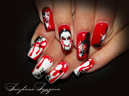 graveyard design easy halloween nail art youtube 15 halloween