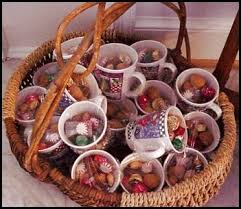 gift mugs with candy low cost frugal christmas party gifts