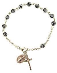 rosary bracelet womens or religous inspirational catholic
