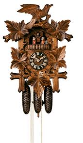 Blue Cuckoo Clock 8 Day Musical Cuckoo Clocks North Coast Imports