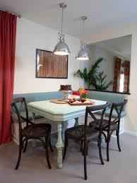 Dining Room  Curtain Ideas And Kitchen Banquette With Corner - Booth kitchen tables