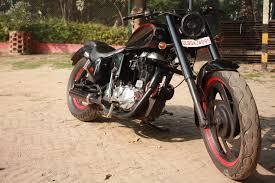modified bullet re extened royal enfield bullet standard 2012 modified delhi xlnc customs 005 jpg