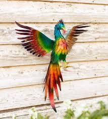 for my garden metal phoenix wall art daydream palace