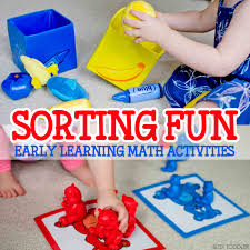sorting fun early learning math activities busy toddler
