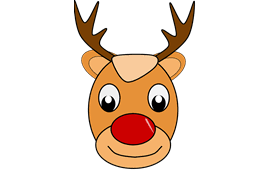 deer rudolph santa claus png image pictures picpng