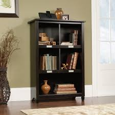 Bookcase With Doors Black Edge Water Bookcase 414814 Sauder