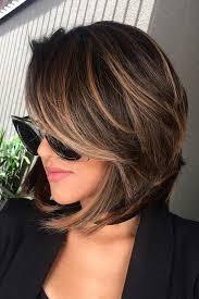 honey brown haie carmel highlights short hair highlights for short hair trend short hair shorts and chic