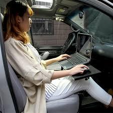 Car Computer Desk Motion 360 Degree Rotation Car Laptop Desk Notebook Holder