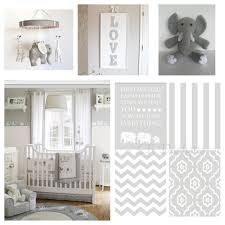 Neutral Baby Nursery Gender Neutral Gray And White Elephant Nursery Nursery Prints