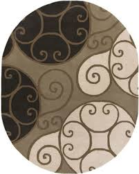 6 X 9 Oval Area Rugs Winter Bargains On Surya Athena Contemporary Geometric Oval