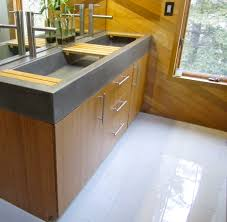 Bathroom And Kitchen Design by Trough Sinks For Efficient Bathroom And Kitchen Ideas Homesfeed