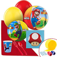mario party supplies mario bros party supplies value party pack