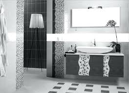 black and white bathroom designs black and white tile bathroom decorating ideas unique black and