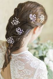 hair pins gypsophila hairpins