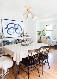 dining room table lighting how to center a light fixture using a ceiling medallion francois
