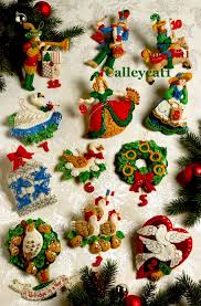 bucilla christmas vintage discontinued bucilla christmas felt cross stitch kits