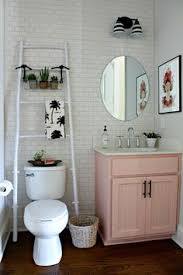 pink and white chic bathroom pink obsessed pinterest white