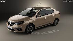 logan renault 2017 360 view of renault symbol 2017 3d model hum3d store