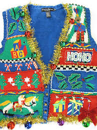 mens light up ugly christmas sweater ridiculous light up super ugly christmas sweater vest men s l
