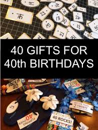 40 gifts for 40th birthdays little blue egg