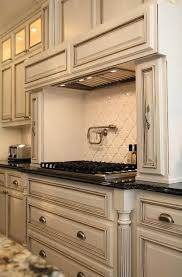 White And Blue Kitchen Cabinets How To Color Kitchen Cabinets Cabinet Color And Pot Filler Paint