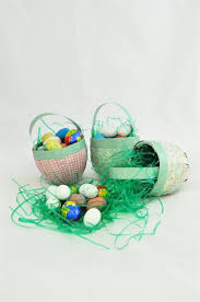 paper mache easter baskets craft project ideas and products createforless