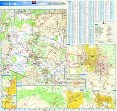 Arizona Maps by Arizona Wall Map Maps Com