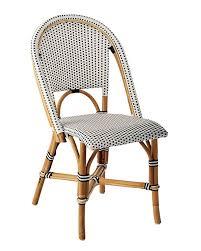 Black Bistro Chairs Dark Navy Kaliko French Bistro Chairs Set Of 2 By World Market