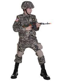 Boys Kids Halloween Costumes Kids Deluxe Army Ranger Costume Army Ranger Costumes