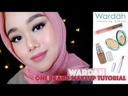 tutorial make up wardah untuk pesta wardah one brand makeup tutorial fatyabiya http makeup project