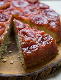 sour plum brown butter upside down cake u2013 a cozy kitchen