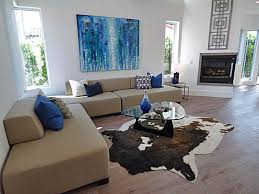 Cowhide Rug Living Room Ideas Faux Cowhide Rug Dining Room Contemporary With Dining Room Grey