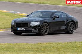 bentley bentley 2018 bentley continental gt protoype review motor