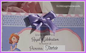 Editable 1st Birthday Invitation Card Sofia The First Party Invitations U2013 Gangcraft Net