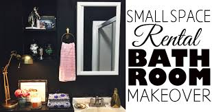 Black And White Bathroom Decor Ideas Bathroom Decor Small Space Rental Youtube