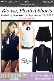 White Blouse With Black Bow Blouse White With A Black Bow Wore By Ariana Grande Wheretoget