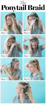 how to braid short hair step by step how to braid hair 8 cute diy hairstyles for every hair type glamour
