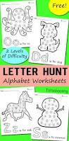 alphabet letter hunt worksheets totschooling toddler