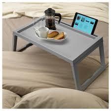 ikea klipsk foldable bed tray breakfast laptop table tablet iphone