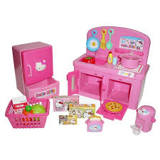 Kitchen Sets For Girls Amazon Com Hello Kitty Kitchen And Refrigerator Sets Sold