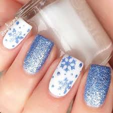 best snowflake designs on nails nail art designs 2017