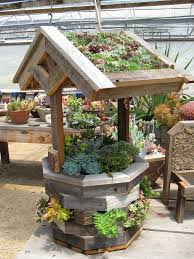 Wishing Well Garden Decor 78 Best Www Succulent Plantings Images On Pinterest Gardening