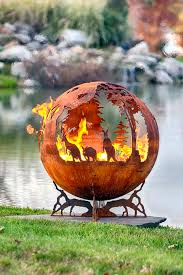 Dragon Fire Pit by Australia Fire Pit Sphere Down Under The Fire Pit Gallery
