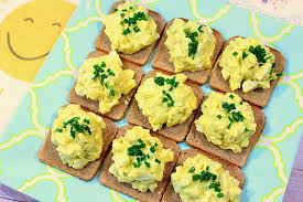 easy cheap canapes easy egg salad canapes for s day breakfast in bed