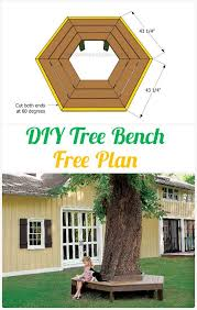 Free Outdoor Garden Bench Plans by Best 25 Tree Bench Ideas On Pinterest Bench Around Trees Tree