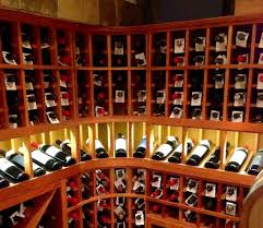 light display los angeles home wine cellar design for a basement by los angeles experts