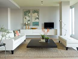dining room design modern living room with floating credenza and