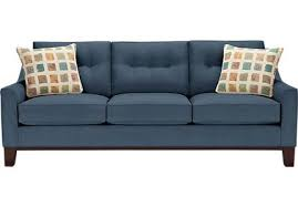 cindy crawford beachside sofa blue sofas u0026 couches navy royal light u0026 dark